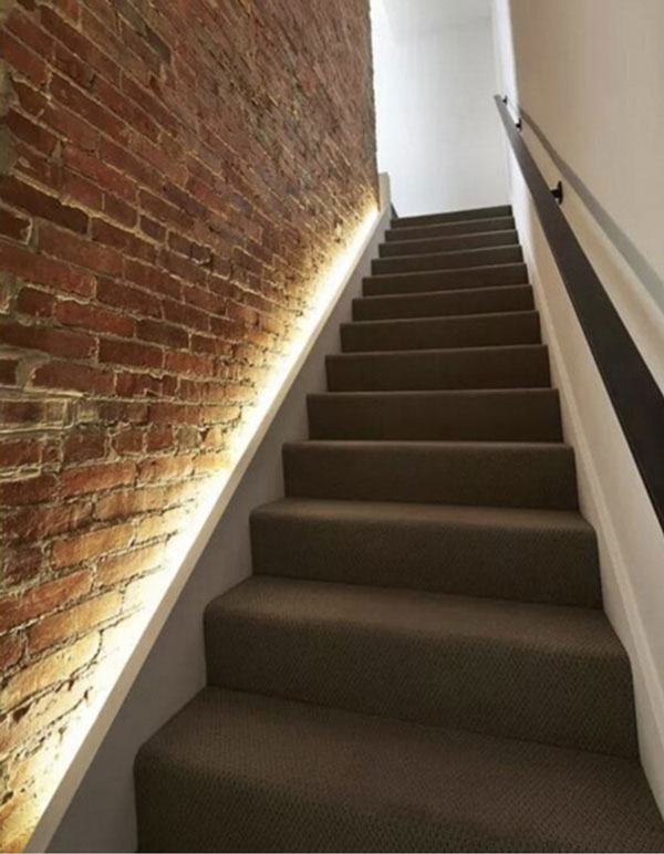 How To Install The LED Soft Light Belt On The Stairs?