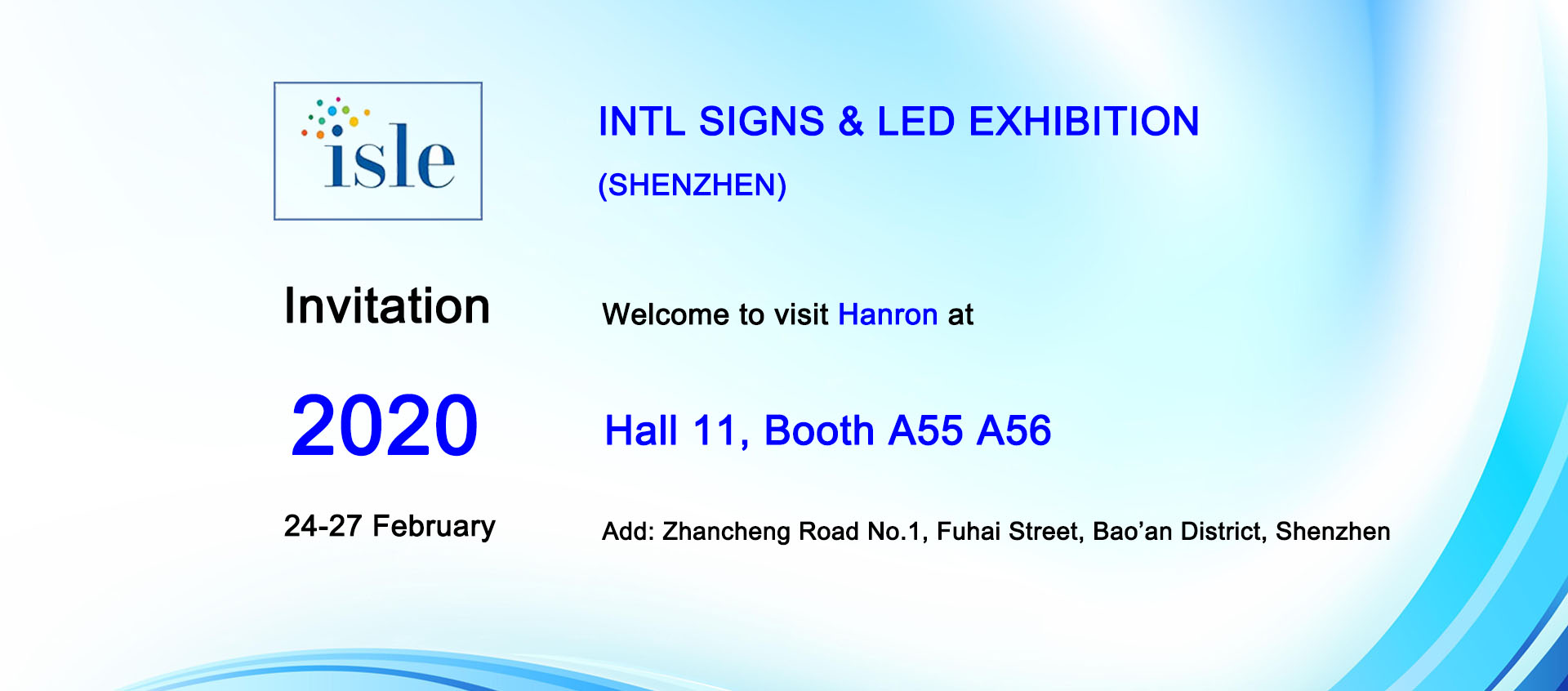 2020 International signs & led exhibition