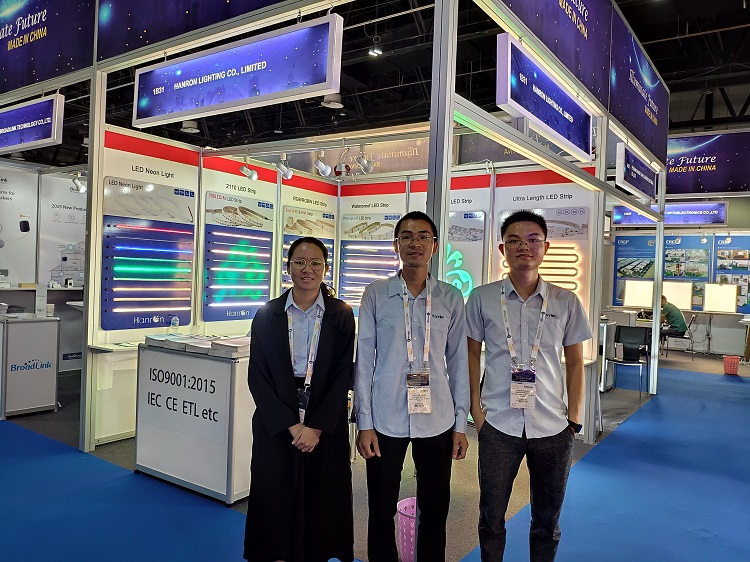 Hanron take part in Light Middle East Exhibition in Dubai